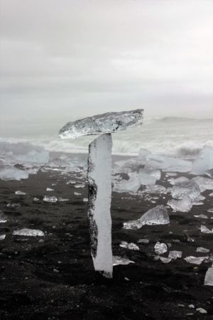 Sculpture on a Diamond Beach