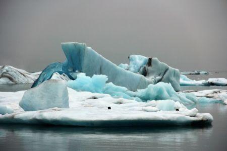 Icebergs in Jökulsálón