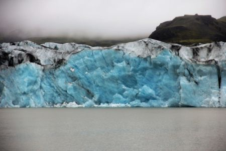 Glaciertounge calving