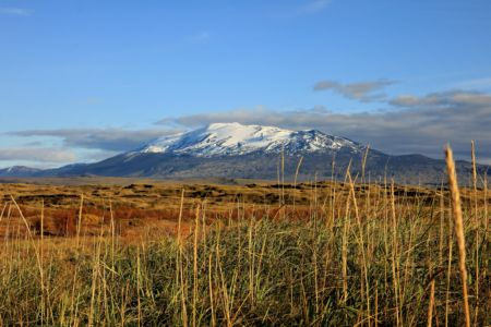 Mt. Hekla in autumn