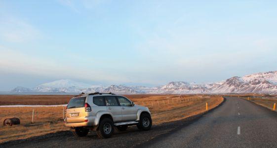 LC viewpoint to Snæfellsjökull
