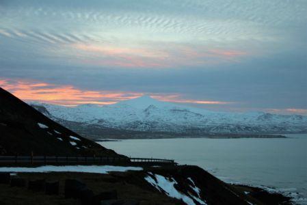 Snæfellsjökull and dramatic clouds