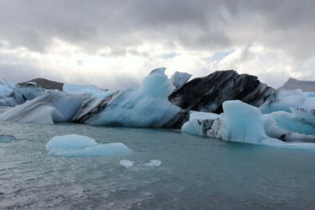 Icebergs on Jökulsálón