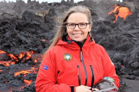 The Guide at the Holuhraun Eruption