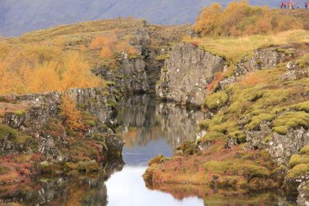 Flosagjá Þingvellir