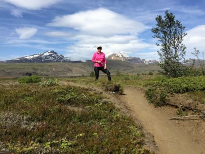 Highland running and guiding