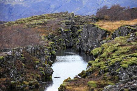 Flosagjá at Þingvellir