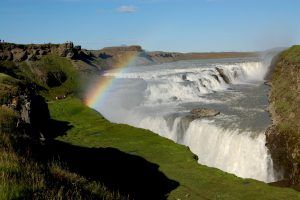 Gullfoss on a beautiful day